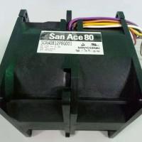 San Ace80山洋双重反转直流风机DC12V大风量高静压风扇9CRA0812P8G001